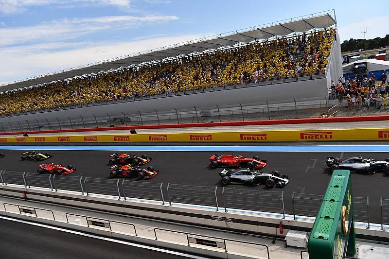 Столкновение Феттеля и Боттаса на старте Гран При Франции: видео