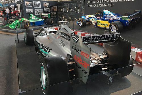 Nova exposição de Schumacher é inaugurada na Alemanha