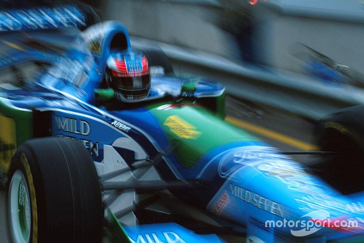 Amikor Schumacher bizarr javaslattal állt elő a Benettonnál