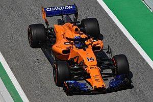 Alonso recibió un nuevo turbo para el GP de España