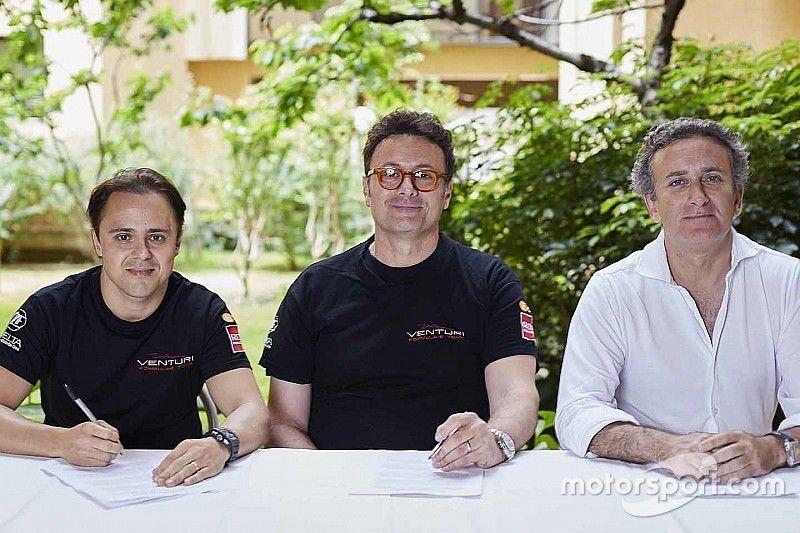 Felipe Massa in Formula E: contratto triennale con Venturi!