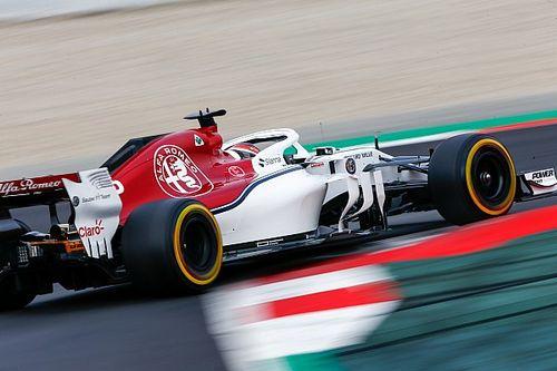A Sauber a hideg ellenére is haladni tudott a munkával