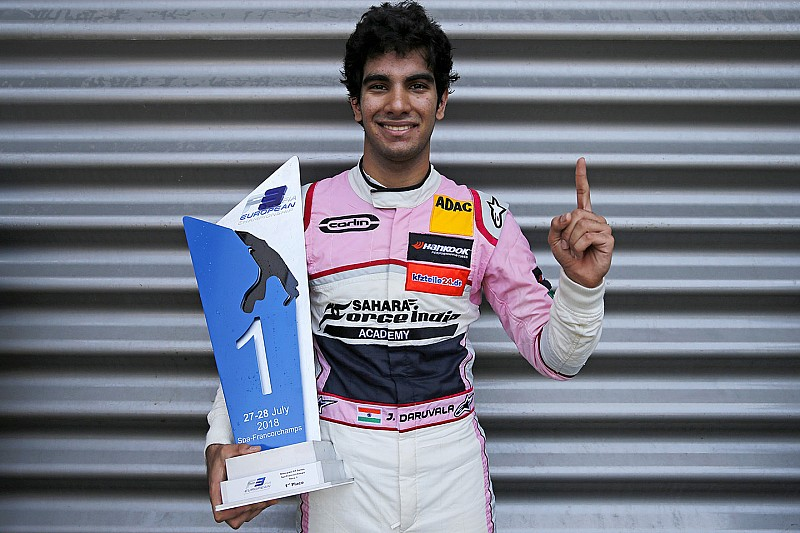 Weekend round-up: F1, Daruvala win, Gill, Maini