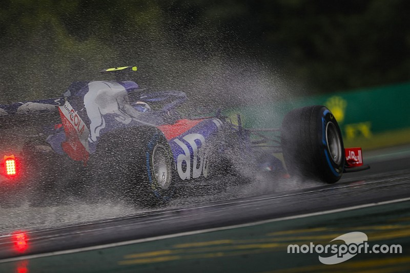 Fotogallery: le qualifiche bagnate del GP d'Ungheria di Formula 1