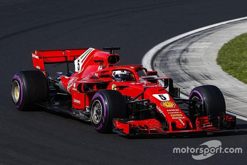 """Vettel: Ferrari tem """"muito mais potencial para liberar"""""""