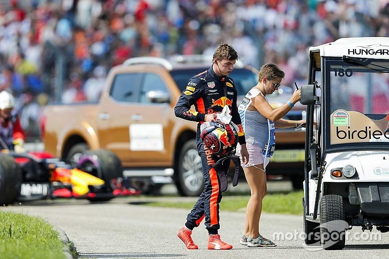 """Verstappen baalt van Renault: """"Dit slaat echt nergens op"""""""