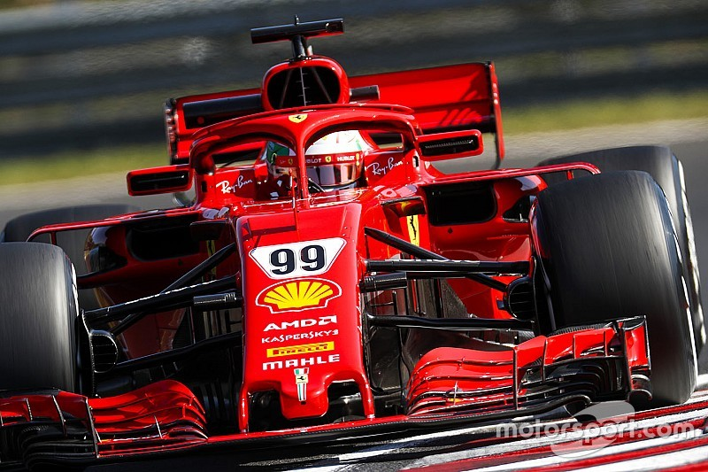 F1-Test Budapest: Giovinazzi unterbietet Vettels Rundenrekord