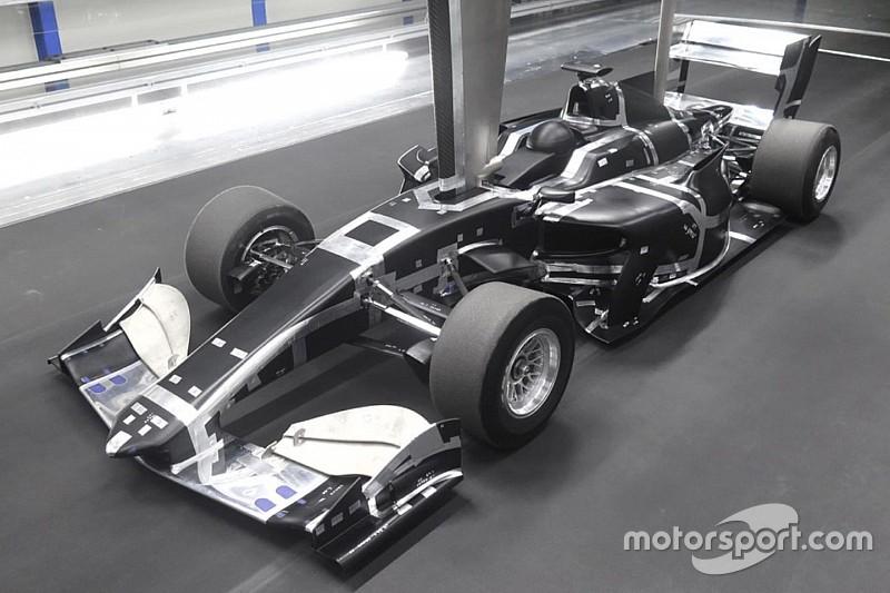 Mobil baru Super Formula jalani tes terowongan angin