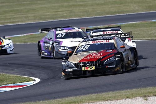 Lausitz DTM: Mortara wins, Rast suffers massive accident