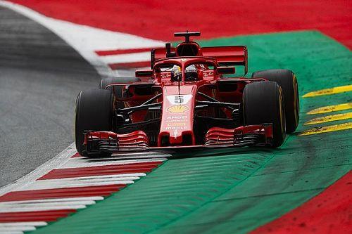 Austrian GP: Vettel on top in FP3, Verstappen hits trouble