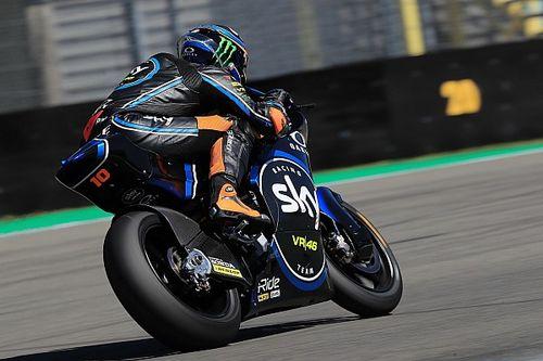Moto2 Duitsland: Marini snel in training vol crashes, Bendsneyder P19