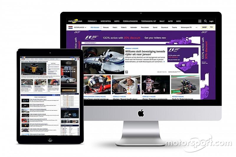 Motorsport.com adquire site holandês GPUpdate.net
