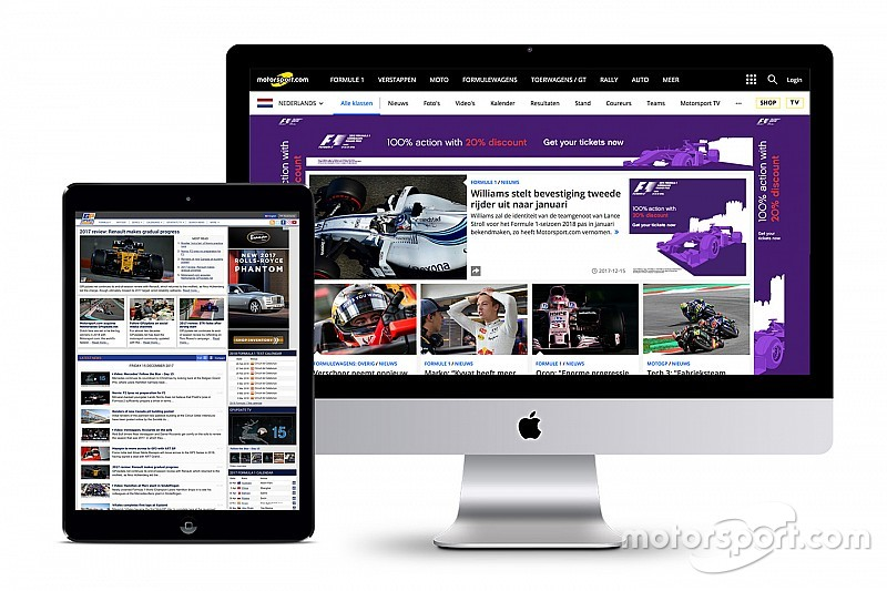 Motorsport.com acquisisce l'olandese GPUpdate.net