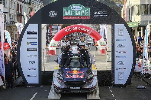 WRC Wales: Ogier rebut gelar kelima, kemenangan perdana Evans