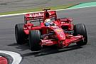 Formula 1 Massa'nın F1'de kullandığı araçlar