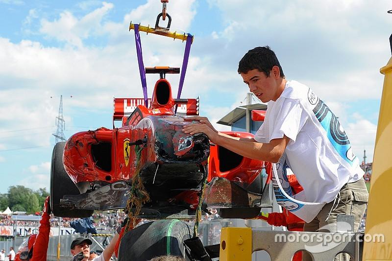 Ma 10 éve, hogy Massa súlyos sérüléseket szenvedett a Magyar Nagydíjon