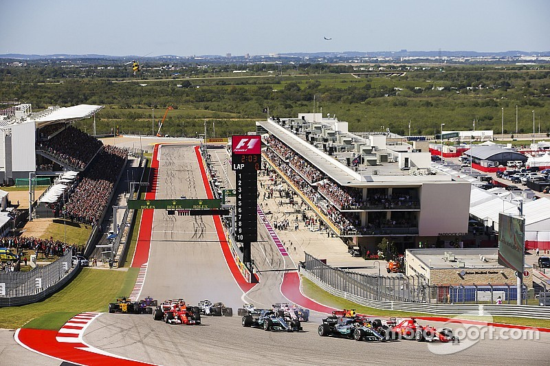 2018 US Grand Prix coverage by ESPN, ABC