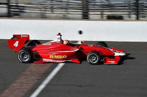 Prima optreden Van Kalmthout bij Indy Lights-debuut
