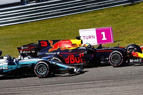 Ricciardo és Bottas kemény csatája Amerikából: nem volt piskóta