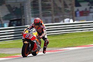 Seulement septième, Márquez garde confiance pour la course