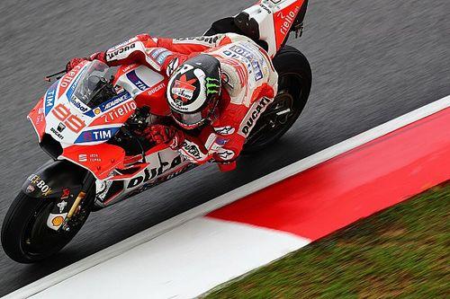 """Lorenzo: """"Mi sento bene come mai prima con la Ducati su questa pista"""""""