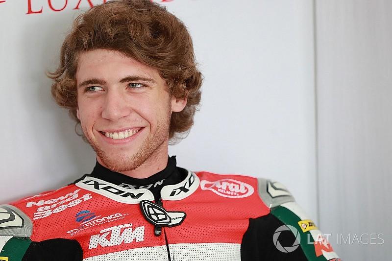 Ajo signs Darryn Binder for 2018 Moto3 season