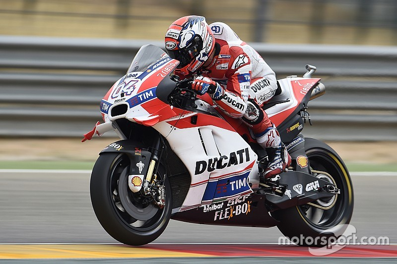 "Dovizioso ""really frustrated"" by ""disaster"" Aragon race"