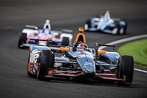 Tagliani moves up 16 positions at the Indy 500