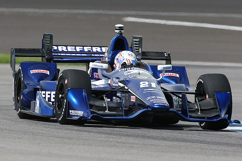 Rahal and Newgarden sent to back of the grid