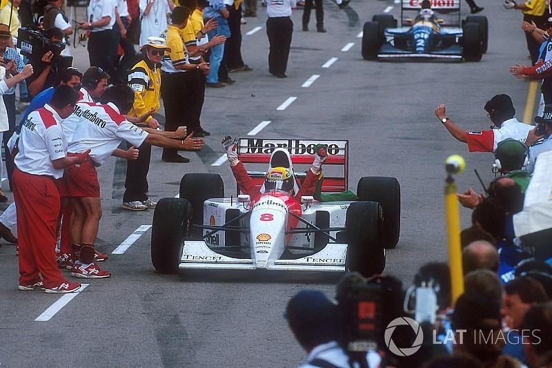 Gallery: Ayrton Senna's last F1 win