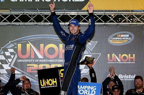 Kennedy becomes first France family member to win NASCAR race