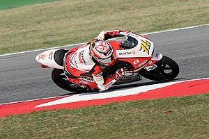 尾野「まだまだタイムを詰められる。明日は上位を狙う」:Moto3日本GP初日