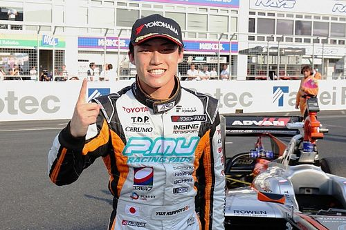 Okayama Super Formula: Kunimoto wins strategic battle, Vandoorne seventh