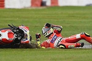 """Iannone """"didn't have control"""" at Silverstone with forearm pain"""