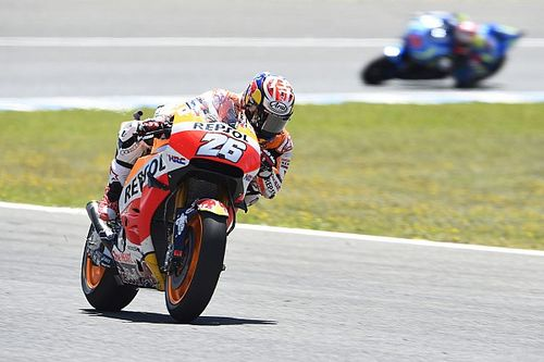 "Pedrosa says Jerez race ""like riding in the wet"""