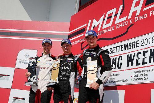 Imola Carrera Cup Italia: parla il podio di Gara 1