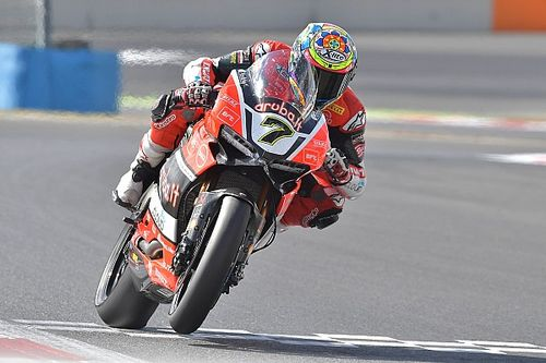 Chaz Davies sets the best time on Friday at Magny-Cours