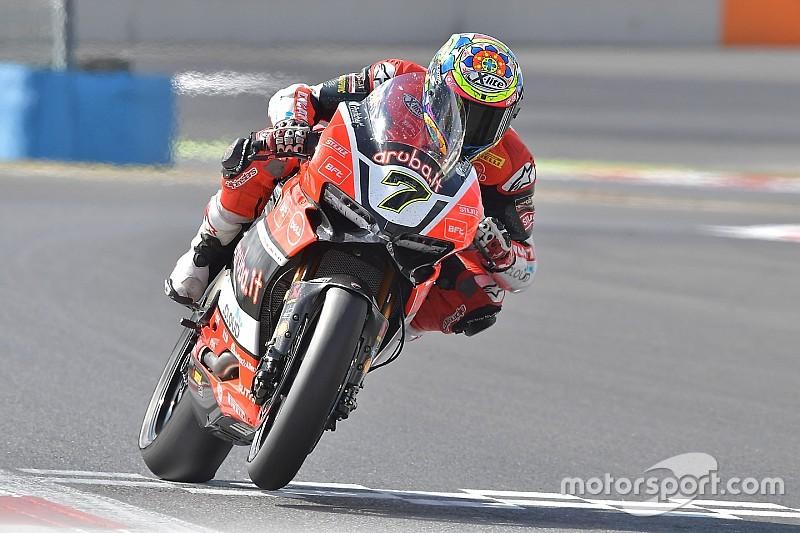 WSBK Magny-Cours: Davies raih kemenangan sensasional
