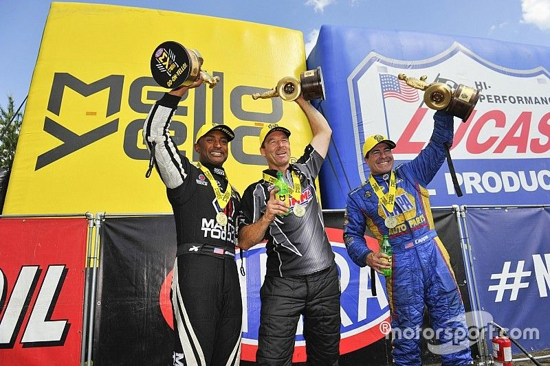 Brown, Capps and Anderson conquer New England