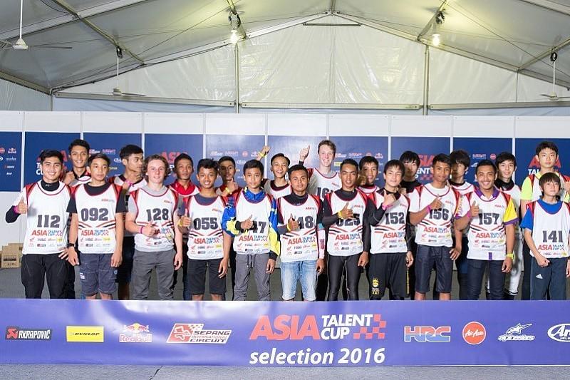 5 Pembalap Indonesia lolos seleksi Asia Talent Cup 2017