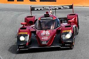 Mazda locks out the front row at Laguna Seca