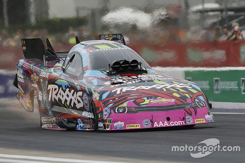 C. Force, Torrence, Enders and Hines lead Friday qualifying at Mile-High Nationals at Denver