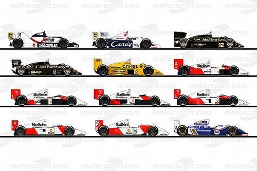 Senna 60 anos: relembre todos os carros do tricampeão na Fórmula 1