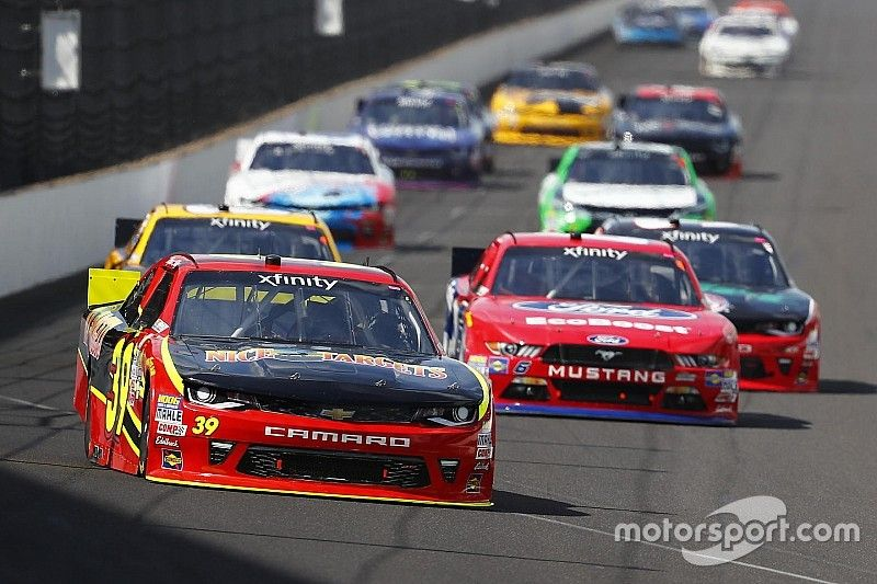 Xfinity Series aero rules for IMS put focus on blocking and restarts