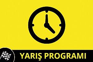 29 Kasım - 1 Aralık Yarış Programı