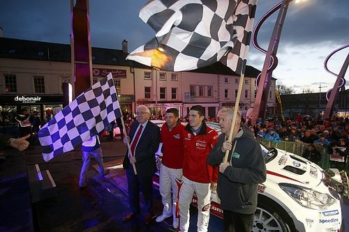 Craig Breen profeta in patria, trionfo-bis al Circuit of Ireland Rally