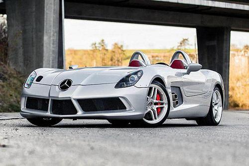 Voor 2 miljoen euro is deze eigenzinnige Mercedes SLR McLaren 'Stirling Moss' van jou