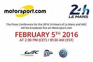 Motorsport.com: streaming online gli iscritti di Le Mans