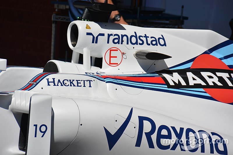 Bite-size tech: Williams removes airbox winglet
