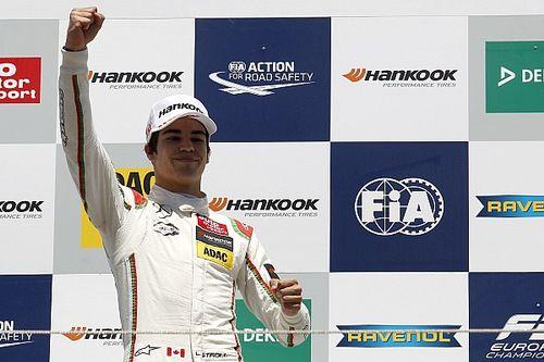 Стролл выиграл третью гонку на Норисринге